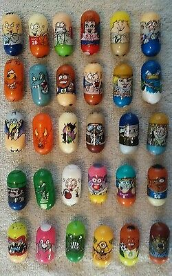 Mighty Beanz Lot of 30 Mixed Moose Mighty Beanz Lot #2