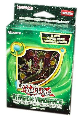 Konami Yu-Gi-Oh! TCG, Invasion: Vengeance Special Edition, New and Sealed