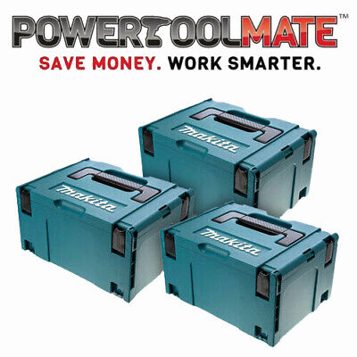 Makita 821551-8 MakPac Type 3 Stacking Connector Case *TRIPLE PACK*