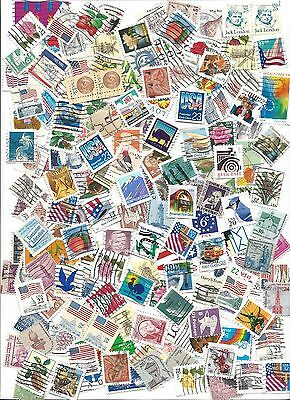 USA - 150 ASSORTED Definitives (Used) 8/26