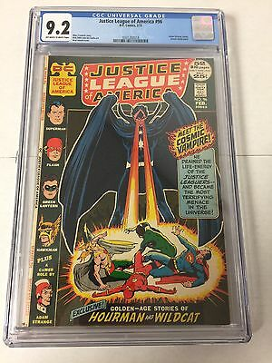 Justice League Of America 96 Cgc 9.2 Ow/w Pages