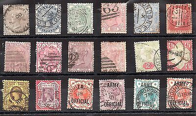 GB Queen Victorian fine used collection, high cat value WS3047