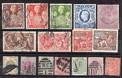 GB QV-KGVI collection (unchecked) to 10/- WS3046