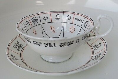 Aynsley Nelros Cup & Saucer of Fortune