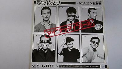 7 Inch Single  Madness My Girl    Japan Stiff Records