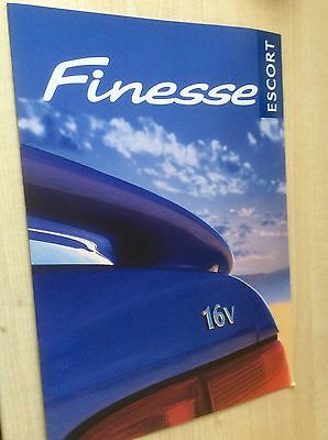 FORD ESCORT FINESSE  SALES BROCHURE 1998  #ForEs02