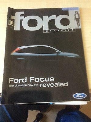 FORD FOCUS  LAUNCH  ADVERTISING LITERATURE  1998  #ForFo02