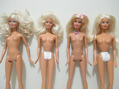 Barbie lot of 4 barbie dolls used in great condition lot # 2