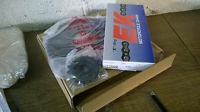 Kawasaki Genuine Chain + Sprocket Set New  Ninja Zx9R  B-Models 99996-1218