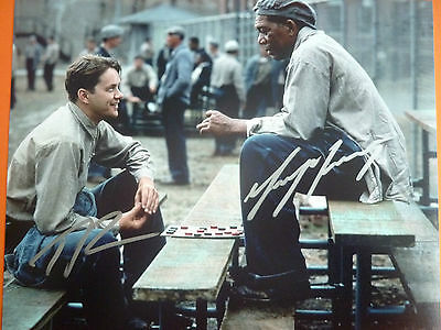 Shawshank Redemption film photo hand signed by 2 10x8