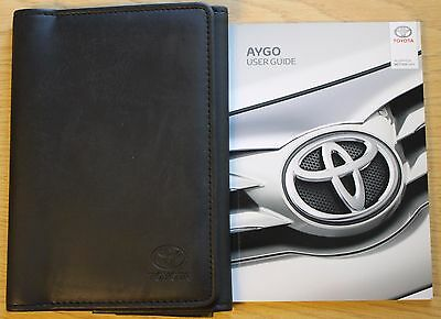 Toyota Aygo User Guide Owners Manual Handbook Wallet 2014-2016 Pack