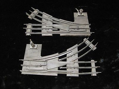 (2)  Ives RR Lines Railroad Train Track Lionel Manual Switch Turnout A5852