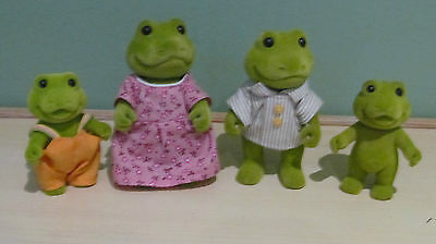 Sylvanian Vintage Forest Friends Families Frog Family