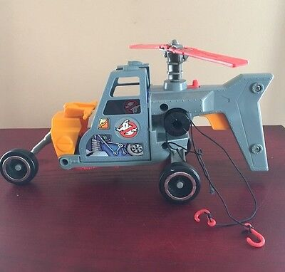 1986 Ghostbusters Ecto-2 Helicopter, By Kenner, Used