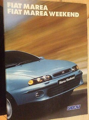 FIAT MAREA & MAREA WEEKEND  SALES BROCHURE  1999  #FiMa01