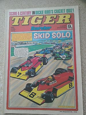 Tiger and Scorcher Comic 30th June 1979 (Postage Discounts Available)
