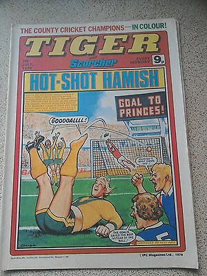Tiger and Scorcher Comic 07th July 1979 (Postage Discounts Available)