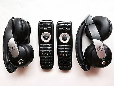 2009-2013 Mercedes-Benz ML GL S Class DVD Wireless Headphone-Remote Control set