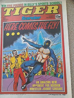 Tiger and Scorcher Comic 05th April 1980 (Postage Discounts Available)