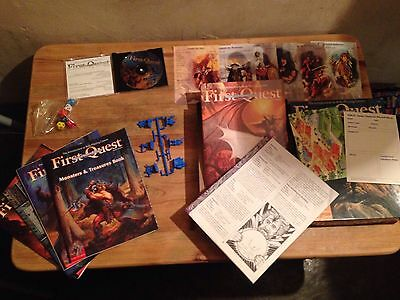 AD&D First Quest Boxed Set - TSR - Mint Condition