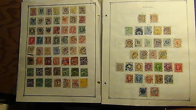 Sweden stamp collection on Scott International pages to '80 or so