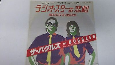 7 Inch Single  Buggles  Video Killed  The  Radio  Star  Japan