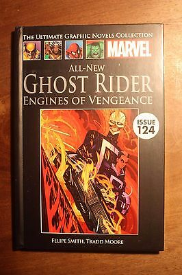 """Marvel Ultimate Graphic Novel #124 - """"GHOST RIDER ENGINES OF VENGEANCE"""" NEW."""