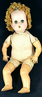 FOR REPAIR Composition Doll 1930's Arranbee MAMA Crier doll vintage Antique