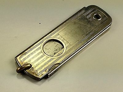 ANTIQUE COOL  Auto Strop Safety Razor Utility Knife With Cigar Cutter 1920's