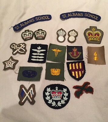 Variety Of Military Patches