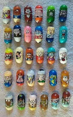 Mighty Beanz Lot of 30 Mixed Moose Mighty Beanz Lot #4