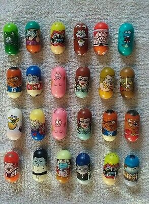 Mighty Beanz Lot of 24 Mixed Moose Mighty Beanz
