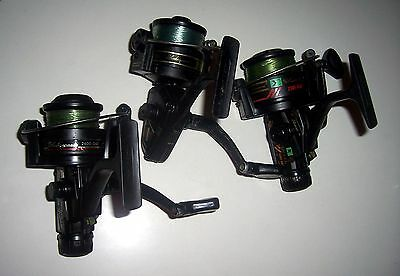 3 X Shakespeare Sigma Spin Reels 2200 2301 2400