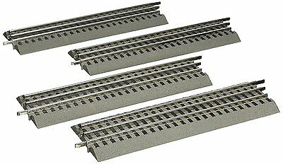 Lionel FasTrack - O-Gauge Straight Track - 4 Pack W/ Power Supply!
