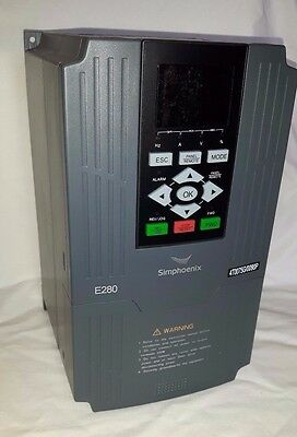 7.5kw 10HP IP20 three Phase 400V AC Motor Inverter Variable Speed Drive, New