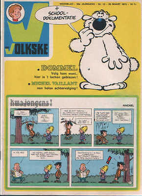 Ons volkske n°12   1975  complet avec point tintin
