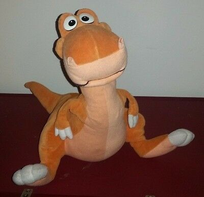 """1993 """"We're Back A Dinosaur Story"""" 14"""" JUSTOYS Plush RARE t Rex Just Toys"""