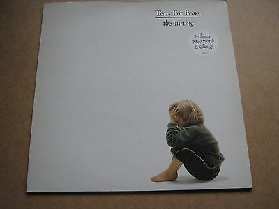 THE HURTING by TEARS FOR FEARS 1983 LP VINYL ALBUM EX/EX FIRST PRESSING