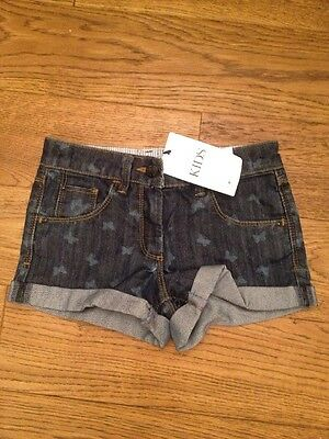 Girls M&S Shorts Age 6-7 Years BNWT (next Style)