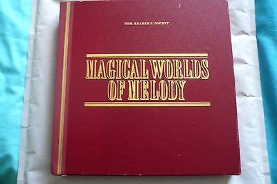 MAGICAL WORLD OF MELODY Reader's Digest - 10 LP records + BONUS LP