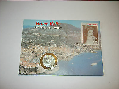 piece de 10 francs monaco grace kelly