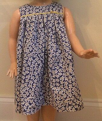 Baby Boden Girls 6-12 Months Dress Bloomers Daisy 2 Piece Summer Clothes Dressy