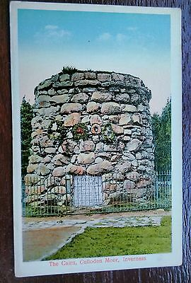 Inverness The Cairn Culloden Moor Postcard