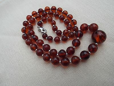 Natural Baltic amber necklace - 12.6 grams