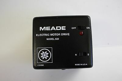 Meade #07476 Telescope Electric Motor Drive 533 for small equatorial mounts NEW!