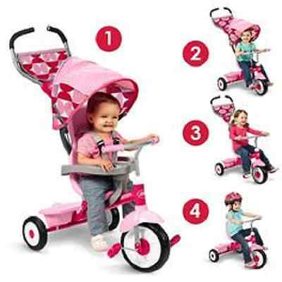 4 in1 Pink stroller and trike