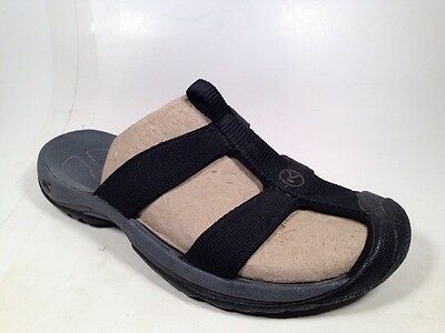 Keen Slide Sandals Black Canvas Women's Sz 6