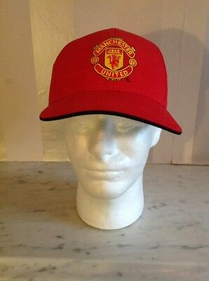 Manchester united FC  official baseball style cap BNWT