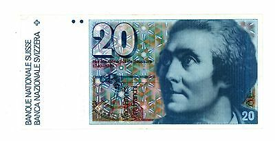 Switzerland ... P-55g ... 20 Francs ... (19)87 ... *XF*