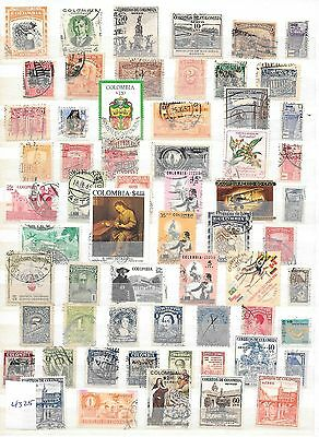 Colombia Stamps (4325)